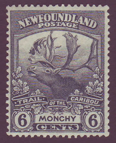 NF1202 Newfoundland # 120 VF MH, Trail of the Cariboo Issue 1919                                                             1911
