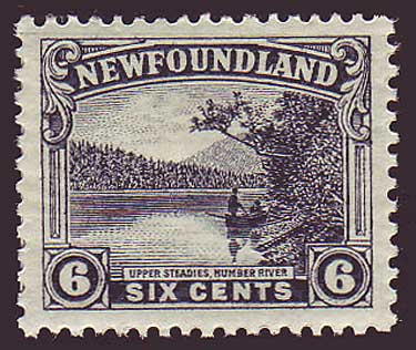 NF1361 Newfoundland # 136 XF MNH**         Upper Steadies perf 14 - 1923