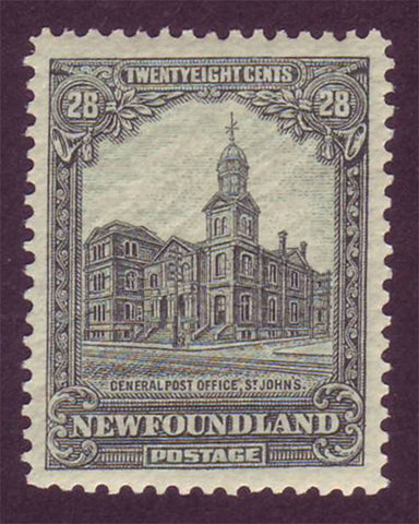 NF1581 Newfoundland # 158 XF MNH** General Post Office 1928