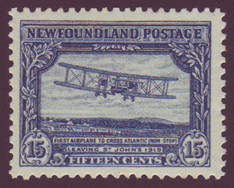 NF1702 Newfoundland # 170 VF MH First Non-Stop Atlantic Crossing 1929-31