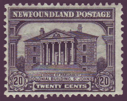 NF1712.1 Newfoundland # 171 F-VF MH, Colonial Building 1929-31