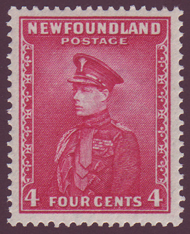 NF1891.1 Newfoundland        Newfoundland # 189 VF MH       Prince of Wales  Perkins Bacon Printings 1932-37