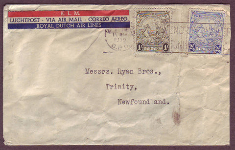 NF5003RC Newfoundland Incoming airmail