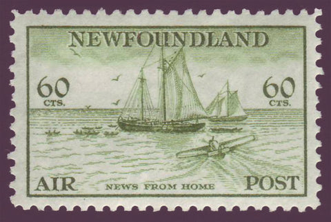NFC162      Newfoundland # C16 XF MH  ''News From Home''