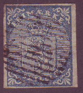 NO00015.1 Norway Scott # 1, Coat of Arms 1855