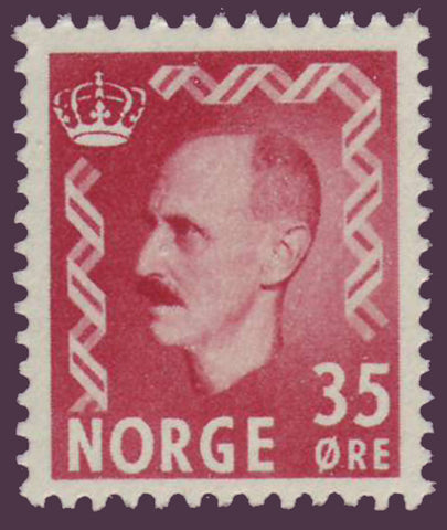 NO03121 Norway Scott # 312 MNH** King Haakon II