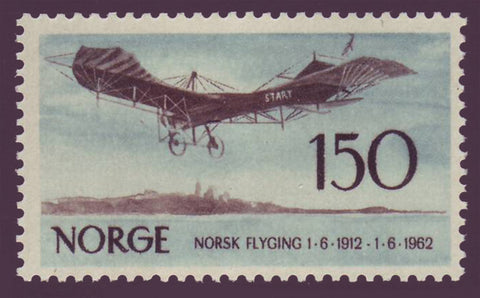 NO04051 Norway Scott # 405 VF MNH**    Norwegian Aviation 1962