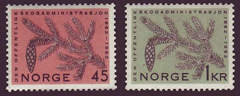 NO0406-071 Norway Scott # 406-07 VF MNH**