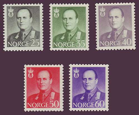 NO0408-121 Norway Scott # 408-12 VF MNH**