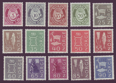 NO0416-301 Norway Scott # 416-30 VF MNH**