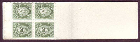 NO0419a1 Norway Scott # 419a booklet