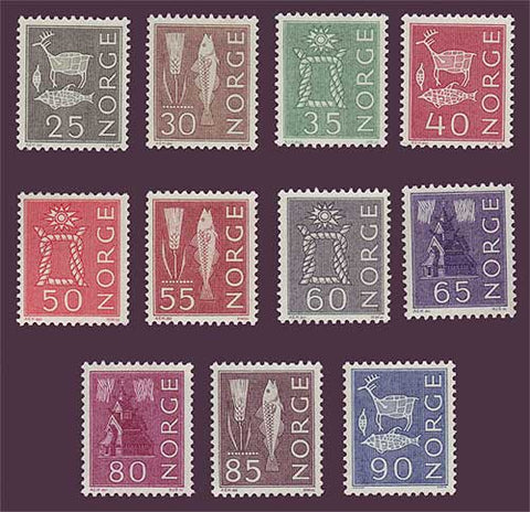 NO0420-301 Norway Scott # 420-30 VF MNH**