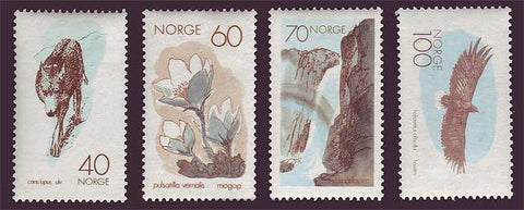 NO0551-541 Norway Scott # 551-54 MNH** Nature Conservation 1970