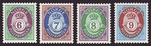 NO0965-681 Norway Scott # 965-68 MNH, Posthorn 1991