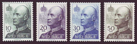 NO1017-201 Norway Scott # 1017-20 MNH, King Harald High Values 1992-2002
