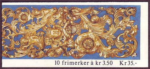 NO1050b Norway booklet Scott # 1050b, Christmas 1993