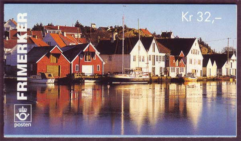 NO1092a Norway booklet Scott # 1092a, Tourism 4kr 1995
