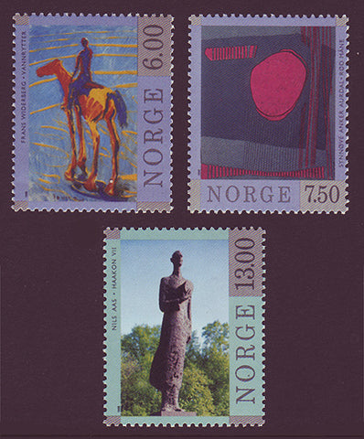 NO1198-001 Norway Scott # 1198-00 MNH, Contemporary Art 1998