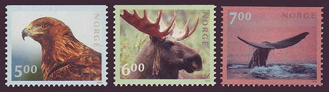 NO1253-551 Norway Scott # 1253-55 MNH, Fauna 2000
