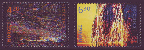 NO1256-571 Norway Scott # 1256-57 MNH, EXPO 2000 Hanover