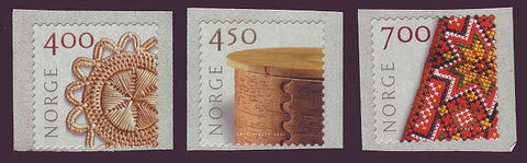 NO1274-761 Norway Scott # 1274-76 MNH, Crafts 2001