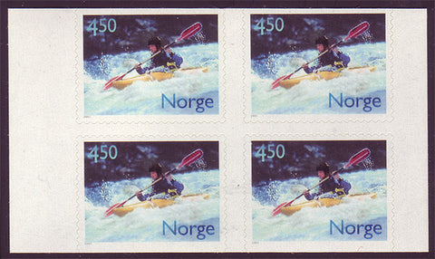 NO1294a1 Norway Scott # 1294a MNH, Adventure Sport / Kayaking 2001