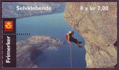 NO1295a Norway Scott # 1295a, Rock Climbing 2001
