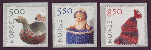 NO1305-071 Norway Scott # 1305-07 MNH, Traditional Crafts 2001