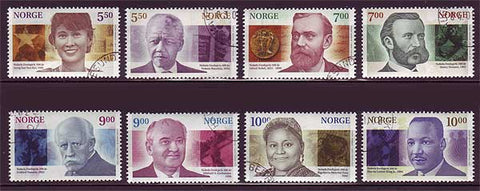 NO1308-155 Norway Scott # 1308-15 MNH, Nobel Peace Prize 2001