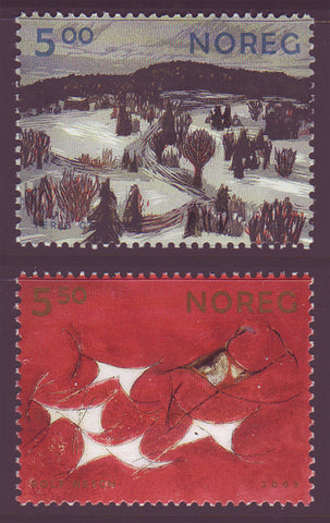 NO1382-83 Norway Scott # 1382-83 MNH, Graphic Arts 2003