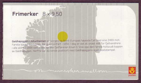 NO1397a Norway booklet Scott # 1397a, Europa 2004 - Outdoor Recreation