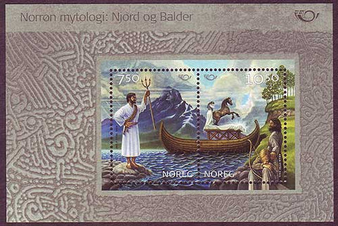 NO1401a Norway Scott # 1401, Norse Mythology - Nordic Joint Issue 2004