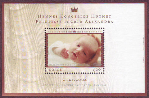 NO14021 Norway Scott # 1402, Princess Ingrid Alexandra 2004