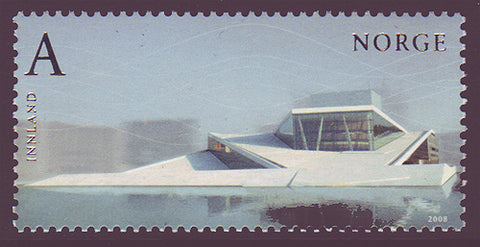 NO1539 Norway Scott # 1539 MNH,  New Opera Building 2008