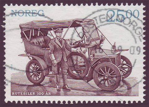 NO1553 Norway Scott # 1553 used, Early Automobile 2008