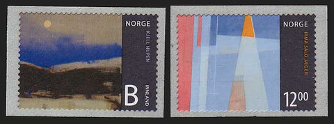 NO1568-691 Norway Scott # 1568-69 MNH, Norwegian Art II - 2009