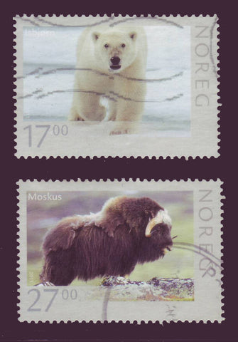 NO1636-371 Norway Scott # 1636-37 MNH, Wildlife 2011
