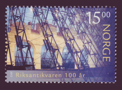 NO16911 Norway Scott # 1691. Ruins of Hamar Cathedral - 2012