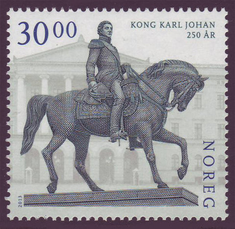 NO17011 Norway  Scott #1701 MNH. King Karl Johan 2013
