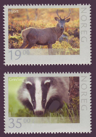 NO1727-28 Norway  Scott #1727-28 MNH, Wildlife 2014