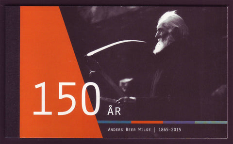 Norway booklet in honor of photographer Anders Wilse. Cover shows self-portrait.