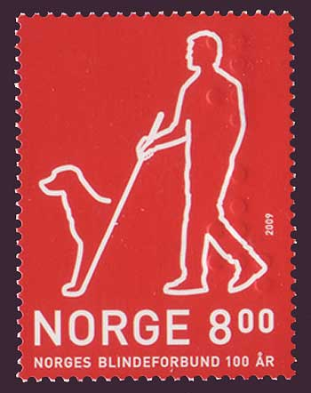 NO1592 Norway Scott # 1592 MNH, Association for the Blind  2009