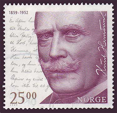 NO1586 Norway Scott # 1586 MNH,  Knut Hamsun 2009