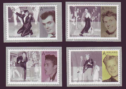 NO1587-89 Norway Scott # 1587-89 MNH, Rock Pioneers 2009