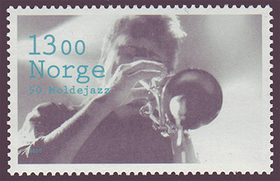 NO1617 Norway Scott # 1617 MNH, Molde Jazz Festival - 2010