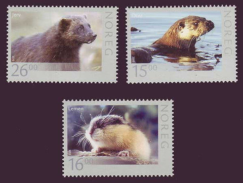 NO1600-02 Norway Scott # 1600-02 MNH, Wildlife 2010