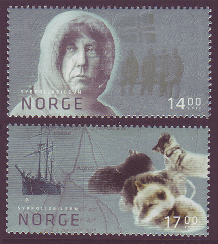 NO1642-43 Norway Scott # 1642-43 MNH, Roald Amundsen 2011