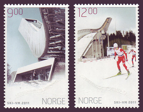 NO1638-39 Norway Scott # 1638-39 MNH, World Skiing Championships 2011