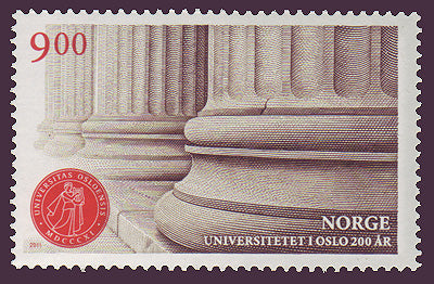 NO1652 Norway Scott # 1652 MNH, University of Oslo bicentennial 2011