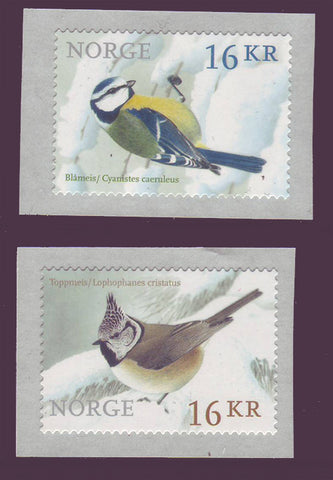 NO1757-58  Norway Scott #1757-58 MNH, Birds 2015